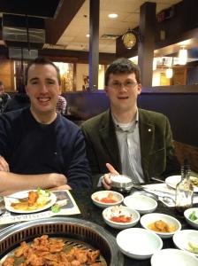 Peter & Shawn @ Korean BBQ
