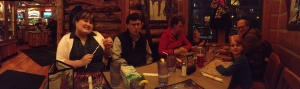 Christmas Dinner with the Millers at Montana's.
