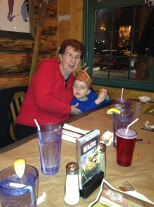Grandma & Aiden at Montana's