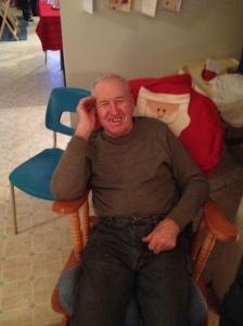 Uncle Joe enjoying the festivities.