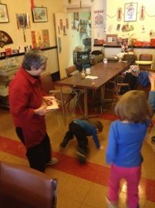 Abby & Aiden dancing Gangnam style.