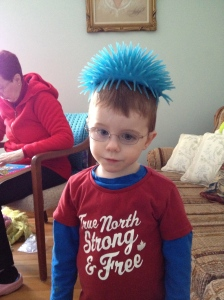 Crazy Hair Day for Aiden
