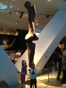 Abby & Ava at the ROM