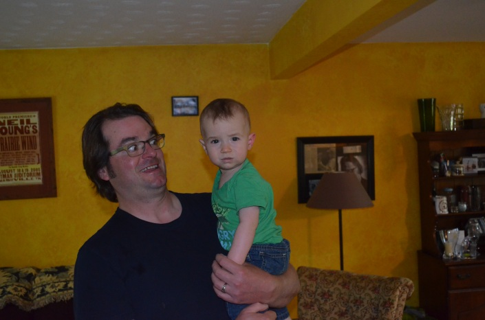 Peter with Macklan