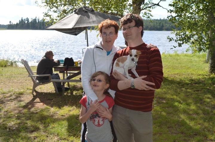 Jackie, with Shawn, Abby & Ernie