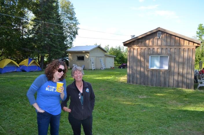 Melissa with Aunt Linda