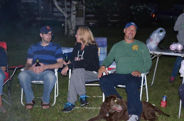 Rob, Carol and Mike