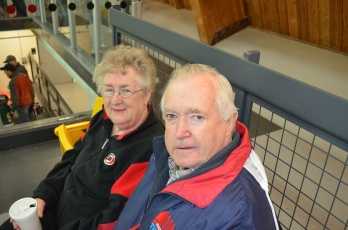 Mama & Papa coming to watch a game