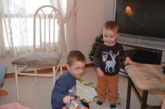 Aiden hanging out with Macklan