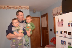 Peter with Aiden and Macklan