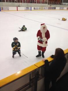 Playing with Santa