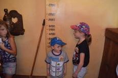 Aiden Measuring himself inside Belle's Cottage