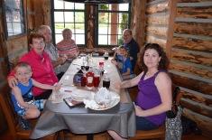 Having dinner at Montana's