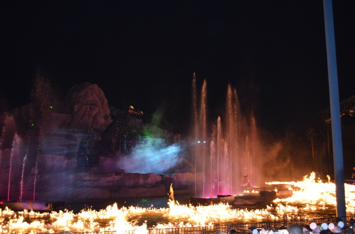 Watching Fantasmic Show!!!
