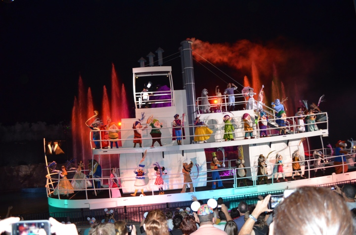 Watching Fantasmic Show