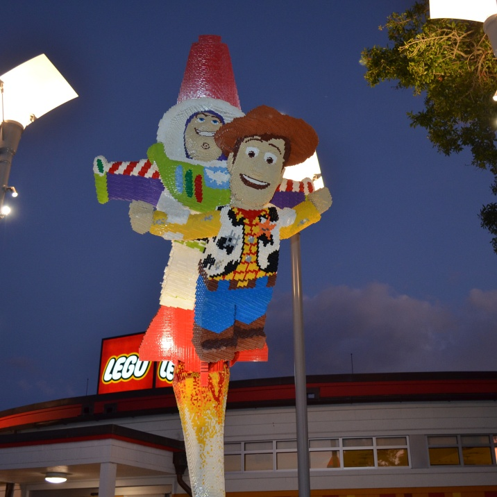 Woody made with Lego