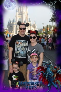 Kids at the start of the Mickey's Not So Scary Halloween Party Day