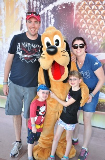 The family with Pluto