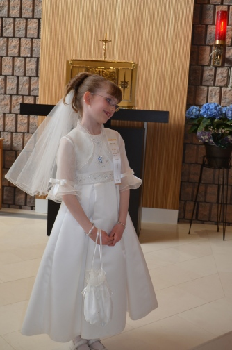 Abby on the Altar