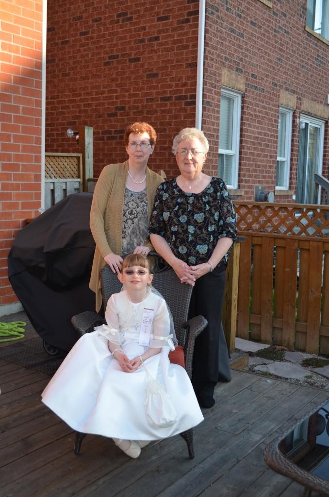 Abby with Grandma and Mama