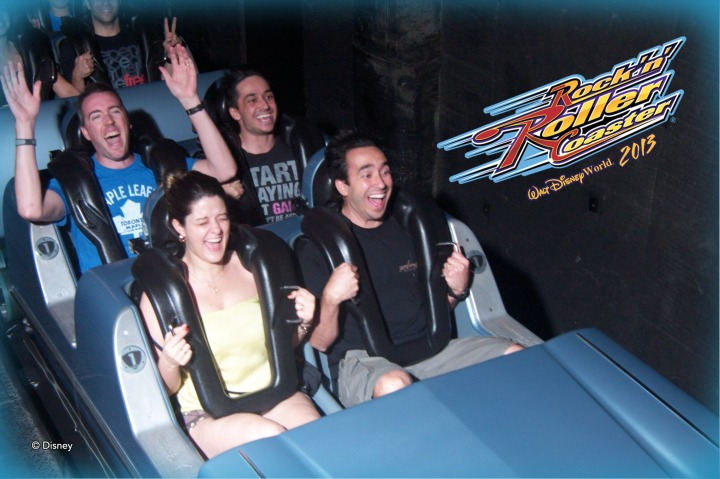 Peter on the Rock 'n' Roller Coaster