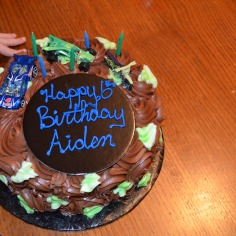 Aiden's very Chocolate Cake