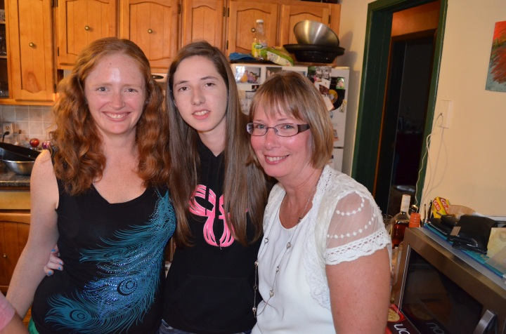 Julie, Morgan and Carol