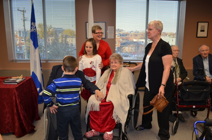 Trip to Rouyn-Noranda for Uncle Gill's award ceremony_Oct 2014
