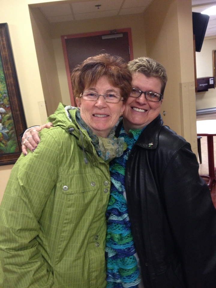 Auntie Cathy and Genny