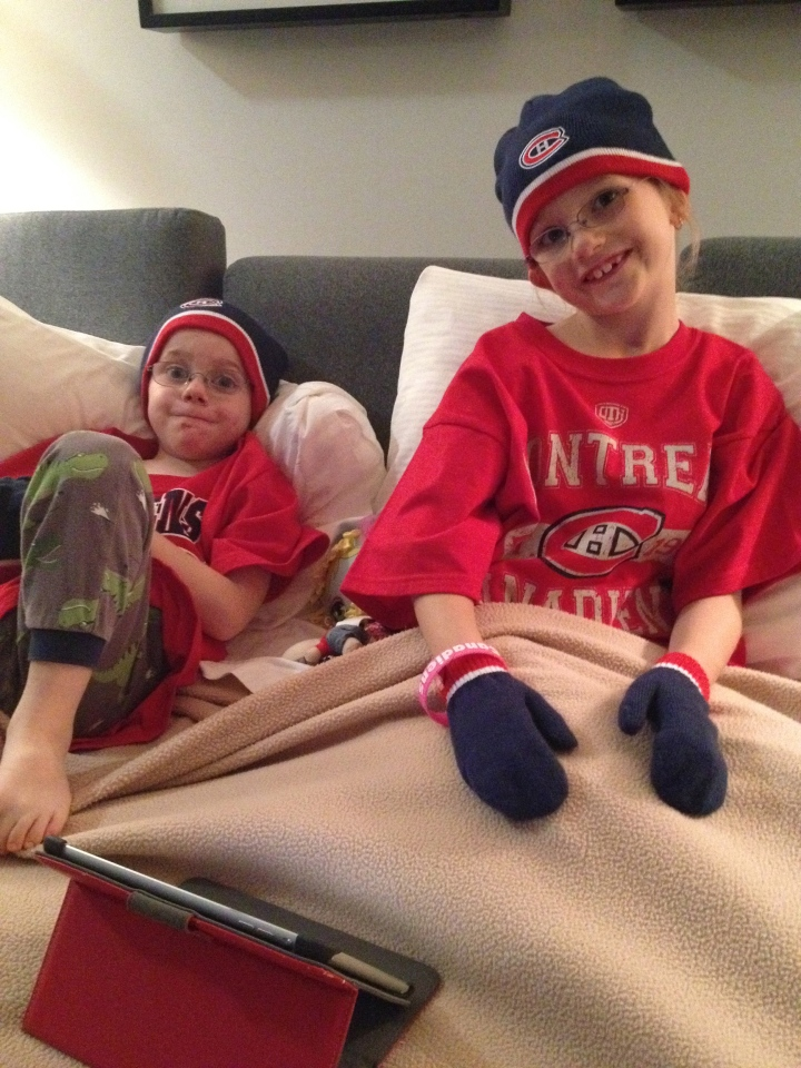 Kids being tricked into wearing Habs gear