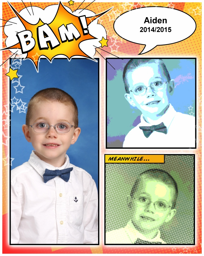 Aiden Grade 1 School Picture