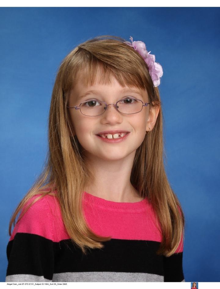 Abby Grade 3 School Picture