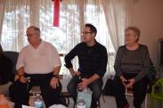 Christmas Evening 2014. Mark, Rob and Mom