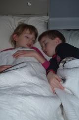 PJ Sleepover at Shawn & Megan's