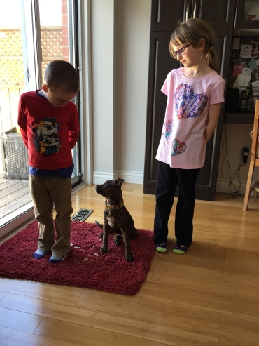 Marley with Abby and Aiden!!!