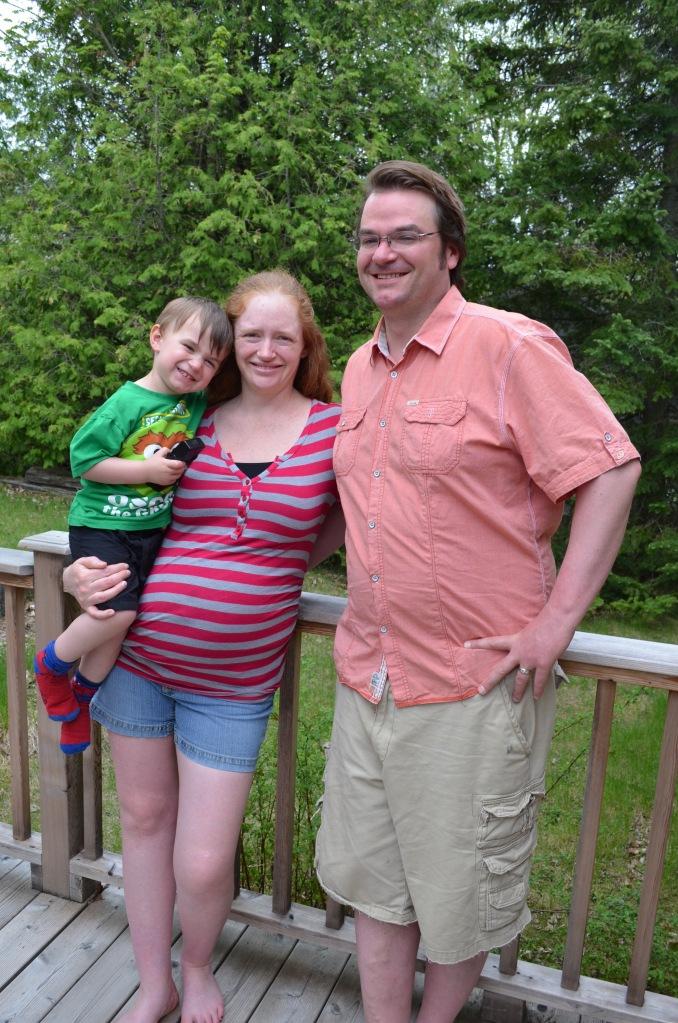 Peter, Julie and Macklan Allison
