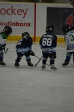 Aiden playing against the Canucks