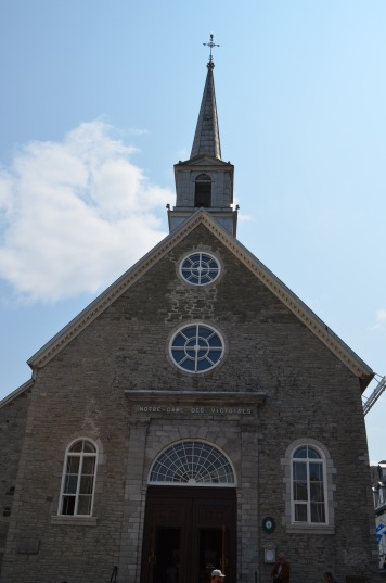 Church in Old Quebec