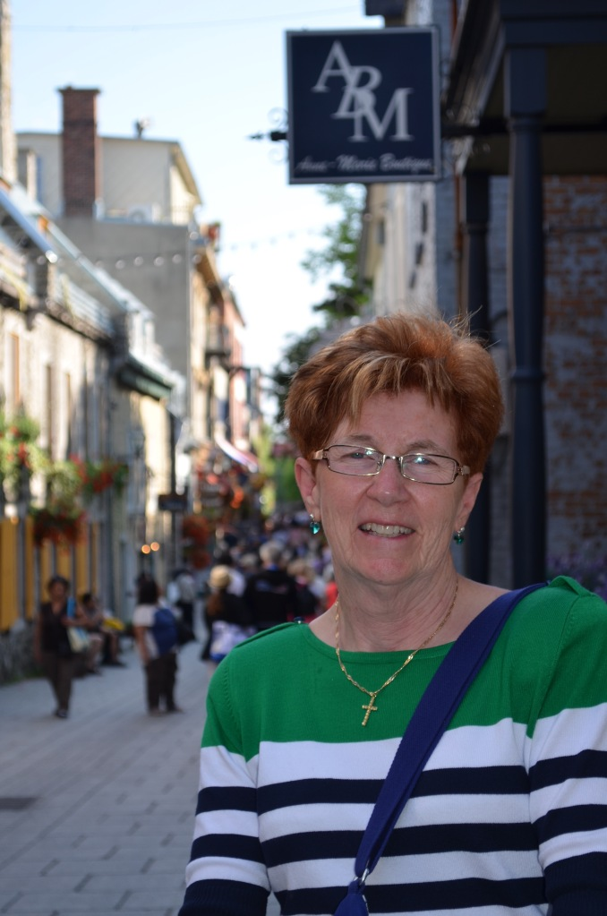 Cathy in Old Quebec