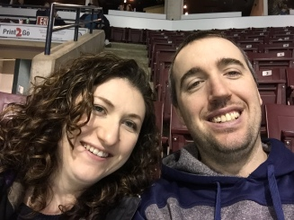 Melissa and Peter selfie.
