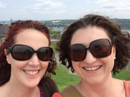 Holly and Melissa at the Citadel