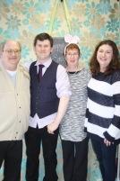 Miller family portrait: Bruce, Shawn, Jackie & Melissa