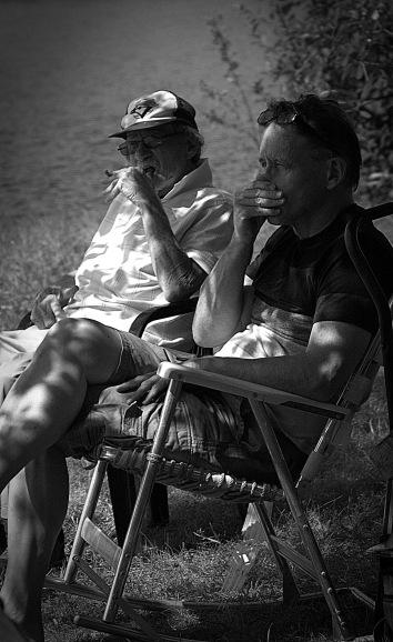 Uncle Al with his son Steven
