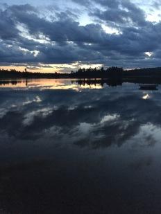 Sunset in Marten River