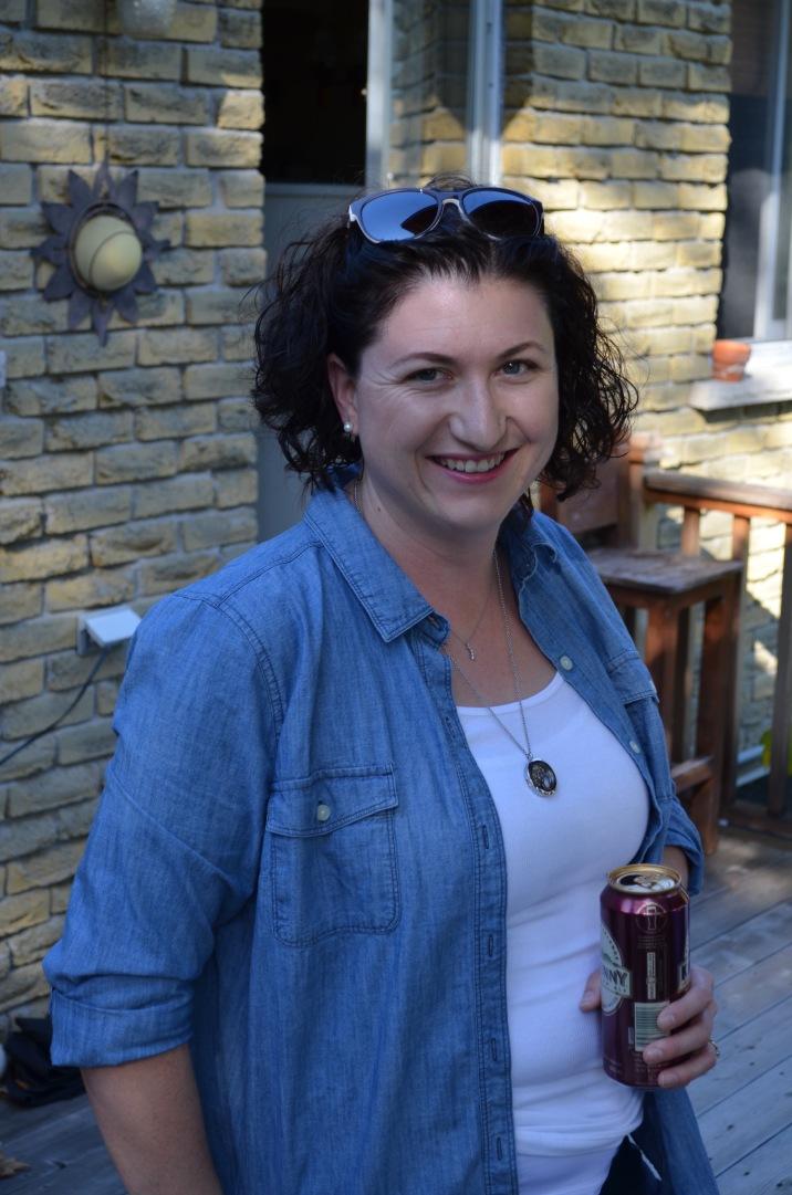 Melissa at the Allison's