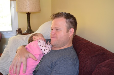 Jason with his niece Eva