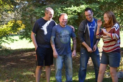 Peter, Jason, Rob & Julie