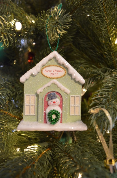 Melissa got this for Peter to remember our first Christmas on Zenith.