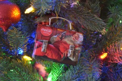 Melissa got this for Peter in 2006. There is a note inside the lunchbox.