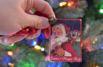 Auntie Cathy gave us this Christmas key in 2009.